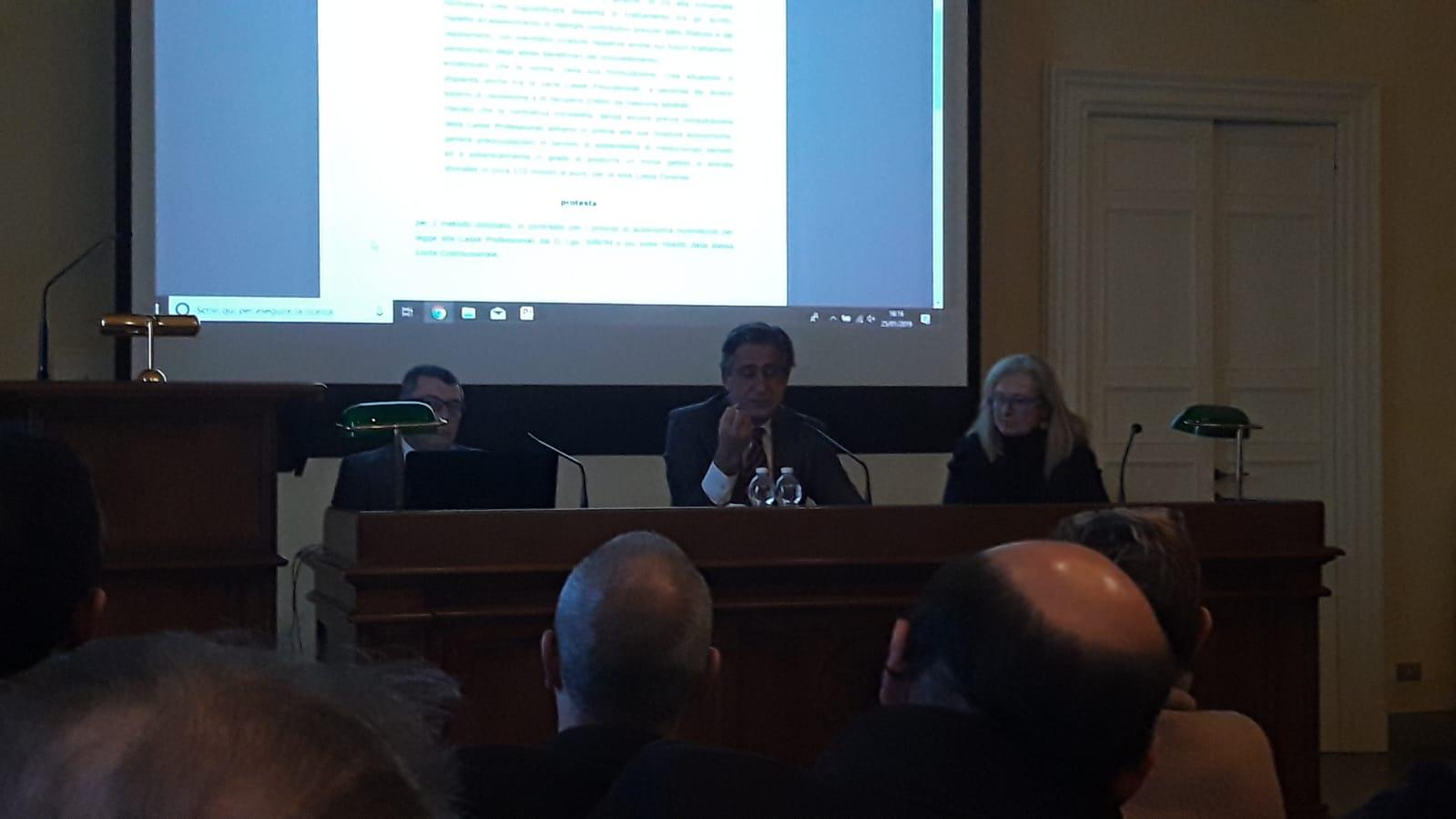 Convegno avvocati pavia Girolamo De Rada indagini difensive