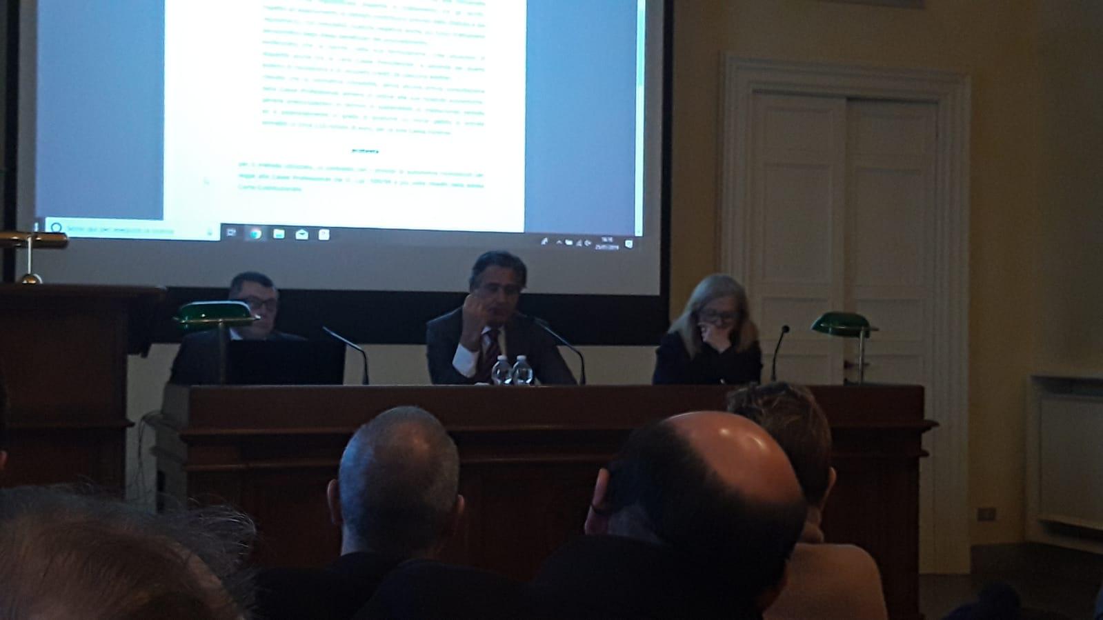 Convegno ordine avvocati pavia Girolamo De Rada